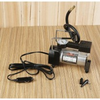 Pompa Ban Mini Tekanan 100PSI - Heavy Duty Air Compressor 12V DC