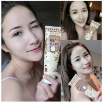 CREAMY COFFEE SCRUB & MASK BY LITTLE BABY CREAM KRIM MASKER PERAWATAN KULIT WAJAH BEST SELLER