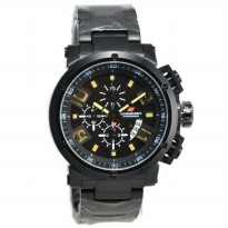 Chronoforce 5228MB Jam Tangan Pria Stainless Steel - Hitam KUning