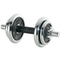 KETTLER - DUMBELL CHROME SET 10KG