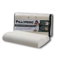 Willow ERGONOMIC TERMURAH Memory Foam 60cm x 30cm x 12 / 10 cm Bantal / Pillopedic - Premium Pillow