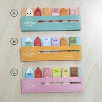 Little Club Stick Label Post-its - Label Note Kertas Catatan Mini Ukuran Kecil Unik Lucu Imut Murah