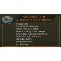 Qmax NBDC (1+3) NANO BOOSTER DIRECT CHARGER