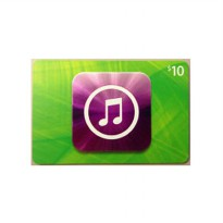 iTunes Gift Card 10$ Digital Code