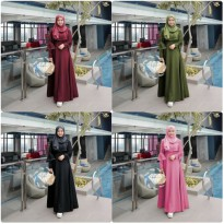 Dress Muslim Gamis Modis Rona vs