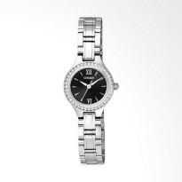 Citizen EJ609053E Automatic Black Dial Stainless Steel Watch Jam Tangan Wanita  Silver
