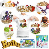 [Kaos Anak] Clash of Clans | Hay Day