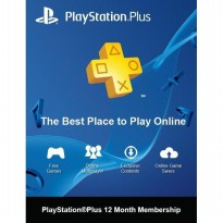 Sony PlayStation Plus 12 Months Asia (PSPlus 12 Bulan Asia) Digital Code