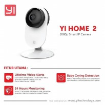 CCTV Wifi IP Camera Xiaomi Yi Home 2 International Version