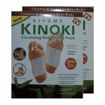 (PO0317) Kinoki Koyo Kaki Herbal Detox Foot Patch Putih 2 Kotak 3pcs