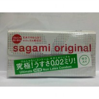 Sagami Original 0.02 Non Latex Kondom