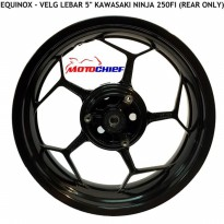 Velg Equinox N250/Fi/Z250 5'inch Rear Only