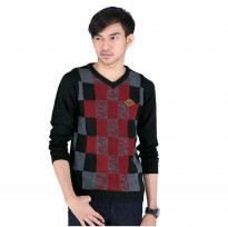 CATENZO  | SWEATER RAJUT / KNIT KASUAL PRIA - ZM 081