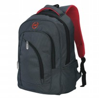 CATENZO | TAS RANSEL / BACKPACK CASUAL LAPTOP PRIA + RAIN COVER - CL 004