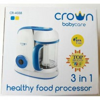 Crown 3 in 1 Healthy Food Processor - Blender Kukus
