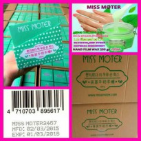 MISS MOTER MATCHA MILK HAND WAX 200 GR