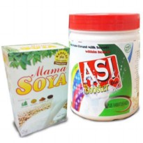 Paket - Mamasoya ( 1pc ) AsiBooster Tea ( 1pc )