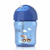 Avent Soft Silicone Straw Bottle Cup Botol Minum 12m+ 2
