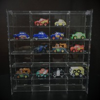 Rak Mini Cars Isi 24 Bahan Akrilik MC46
