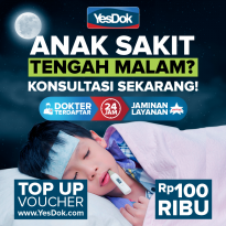 YesDok Top Up Voucher Value Rp 100.000