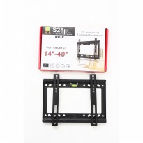 BRAKET LCD LED TV 14-40' MOTO S28, BLACK , BRACKET / BREKET