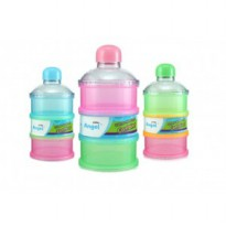 Tempat Susu Bayi / Baby Milk Container - 3 Layers