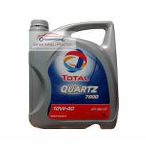TOTAL QUARTZ 7000 10W-40 - Oli Mobil ORIGINAL SETARA SHELL HELIX HX7 ORIGINAL SINGAPORE