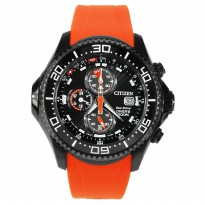 Citizen Promaster BJ2119-06E Eco-Drive Chronograph 200 M Water Resintance Diver's Watch