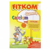 Fitkom Gummy Calcium Box 64gr