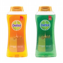 Dettol Bodywash Bottle Gold Serries 300 ml