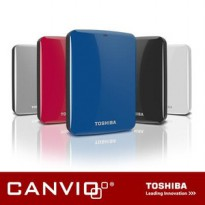 Hdd Ext 500Gb Toshiba Canvio Connect Usb 3.0