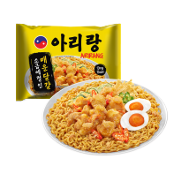 (POP UP AIA) Mie Korea Arirang Spicy Salted Egg Fried Noodle