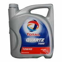 Total Quartz 7000 Semi Synthetic API SN 10W40 Oli Pelumas [4 Liter]