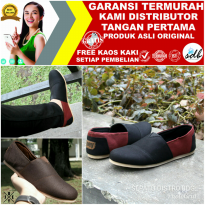 Sepatu Slop Canvas Simpel Casual Santai Original Joey Wakai Japan IDG:008225