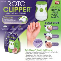 Roto Clipper Electric Nail Trimmer / Gunting Kuku Elektrik