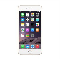 Apple iPhone 6 Plus Gold Smartphone [128GB/Garansi Resmi]