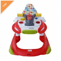Baby walker Cocolatte 1104 2in1 Walker Red, Blue