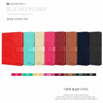 Mercury Goospery Bluemoon Diary Case for Apple iPad 9.7