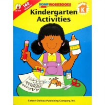 Home Workbooks Kindergarten Activities (Kindergarten) with 140 Stickers!