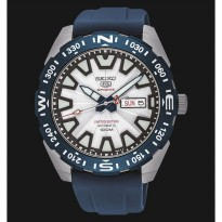 Seiko 5 Sports SRP783K1 Automatic White Dial Blue Rubber Strap Limited