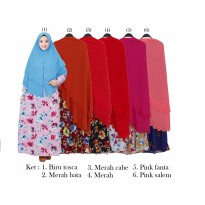 Gamis Syar'iMisby Hija Bubble Susun GKS1566