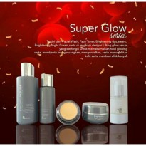 (Paket Super Glow) Paket Wajah + Serum Lifting Glow Ms Glow