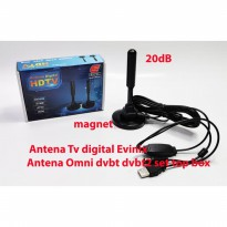 Antena Tv digital indoor Evinix Antena Omni dvbt