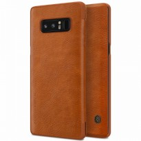 Nillkin Qin Leather Flip Case Samsung Galaxy Note8 / Note 8 Brown