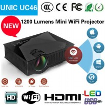 Projector Lods Unic Uc46 Wifi Hd 1200 Lumens - Diamond Style