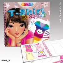 TOP Model TM5469 TOPModel T-Shirt Designer Colouring Book