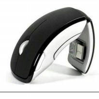 MOUSE FOLDABLE WIRELESS MOUSE FOR LAPTOP NOTEBOOK PC COMPUTER AKSESORIS KOMPUTER