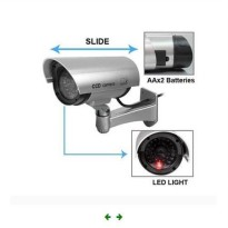 CCTV Palsu Replika Kamera Security Simulasi OUTDOOR