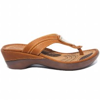 HOMYPED ELEGANCE B 52 SANDAL WANITA  L.BROWN