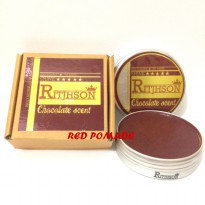 POMADE RITJHSON CHOCOLATE COKLAT MEDIUM SLICK OILBASED OIL BASED 3.5 OZ + FREE SISIR SAKU